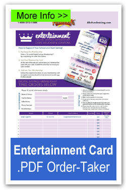 Entertainment Card Order-Taker
