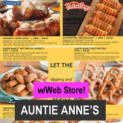Auntie Annes Pretzel Order-Taker Fundraiser