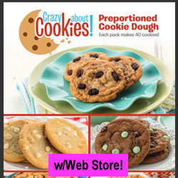 Preportioned Cookie Dough Fundraiser