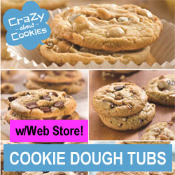 Cookie Dough Tubs Order-Taker Fundraiser