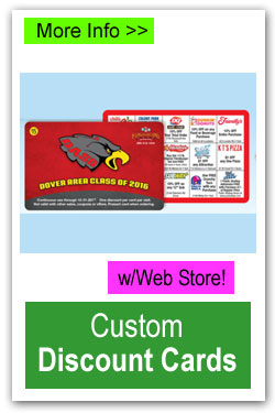 Custom Discount Cards Fundraiser