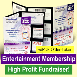 Entertainment Membership Fundraiser