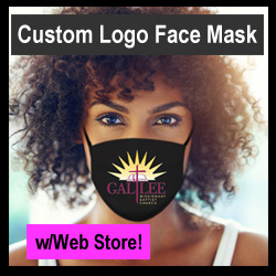 Custom Logo Face Mask Fundraiser