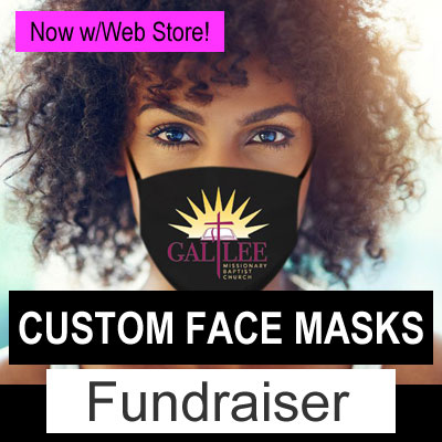 Custom Face Masks w/Web Store