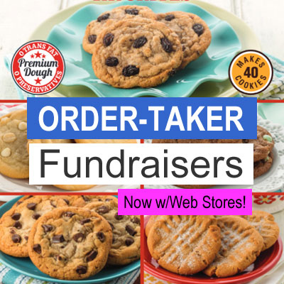 Order-Taker Fundraisers w/Web Stores