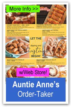 Auntie Annes Pretzels Order-Taker