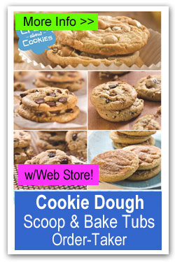 Cookie Dough Tubs Order-Taker