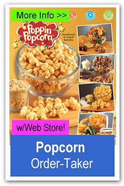 Gourmet Popcorn Order-Taker