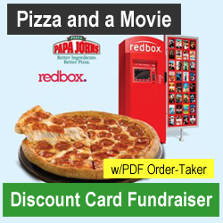 Pizza and Movie Discount Card