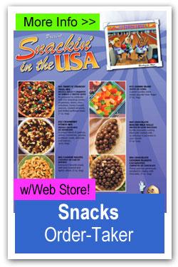 Snacks Order-Taker Fundraiser