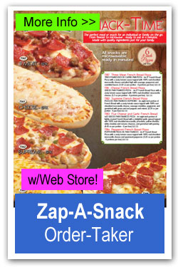 Zap-A-Snack Pizza Fundraiser