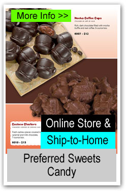 Ship to Home Preferred Sweets Candy