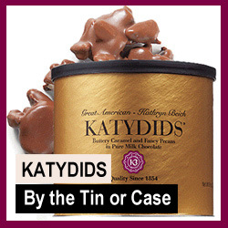 Katydids Candy by Tin or Case