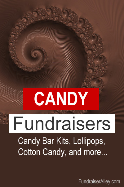 Candy Fundraisers - Candy Bar Kits, Lollipops, Cotton Candy, and more...