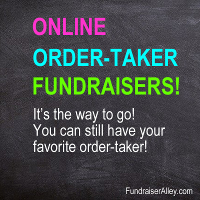 Online Order-Taker Fundraisers