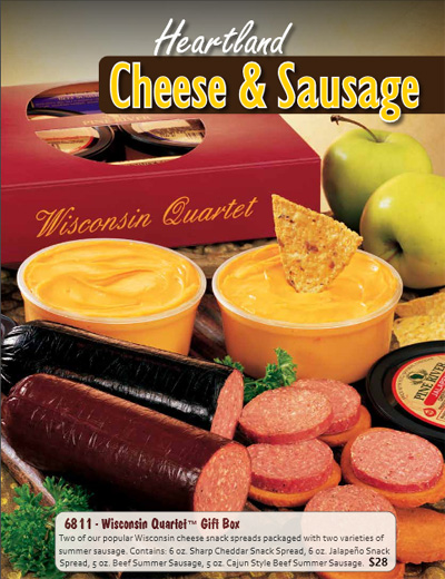 Heartland Cheese & Sausage Fundraiser Brochure
