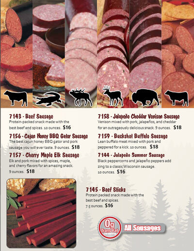 Heartland Cheese & Sausage Brochure - Pg 3