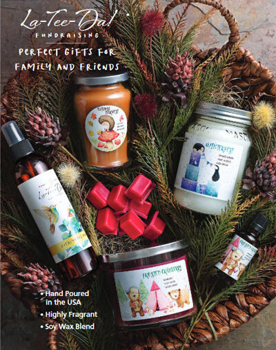 La Tee Da Fundraising Fall/Christmas Brochure - Cover