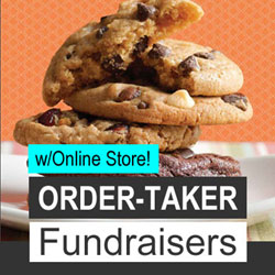 Order-Taker Fundraisers w/Online Store