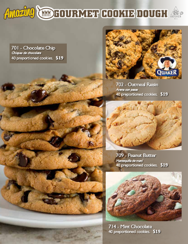 Amazing Gourmet Cookie Dough - Page 1