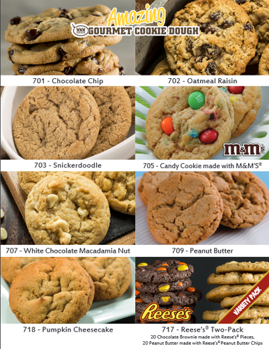 Amazing Cookie Dough One Sheet Fundraiser