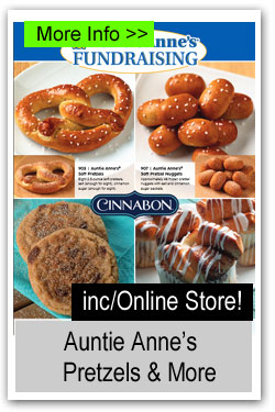 Auntie Anne's Pretzels & More Brochure