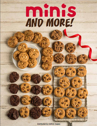 Mini Cookies and Snacks Order-Taker Brochure Fundraiser