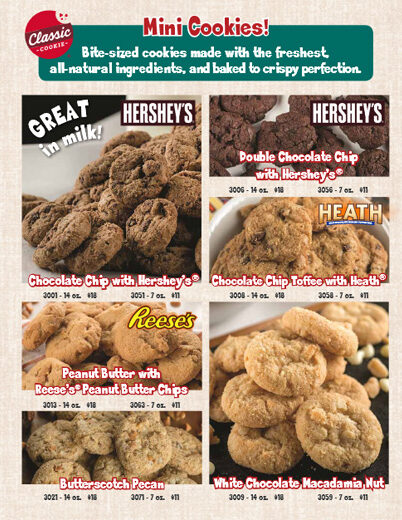Minis and More Order-Taker Brochure - page 2