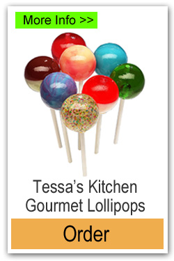 Tessas Kitchen Gourmet Lollipops