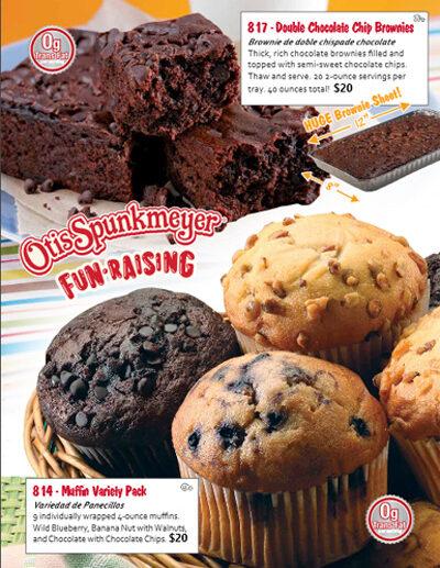 Otis Spunkmeyer Fun-Raising Brochure - pg 3