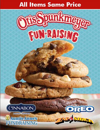 Otis Spunkmeyer Same Price Order-Taker Brochure - cover, pg1