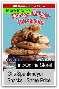Otis Spunkmeyer One Price Snacks