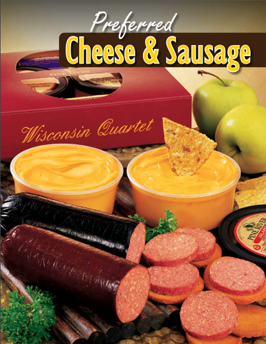 Cheese and Sausage Order-Taker Brochure - cover/pg 1