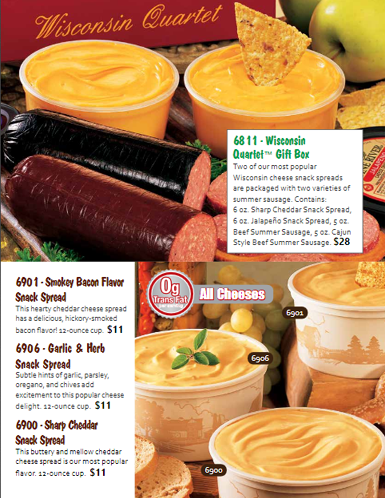 Cheese and Sausage Order-Taker Brochure - pg 2