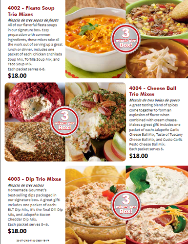 Cheese and Sausage Order-Taker Brochure - pg 4