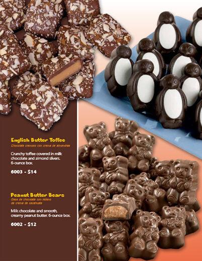 Preferred Sweets Fundraiser Brochure - pg 1