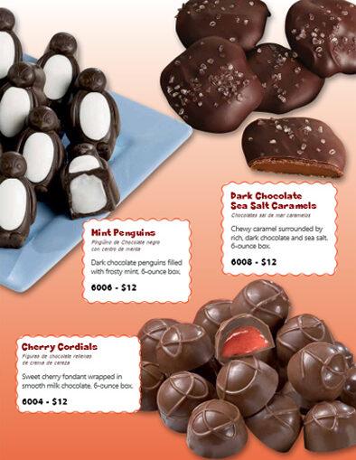Preferred Sweets Fundraiser Brochure - pg 2