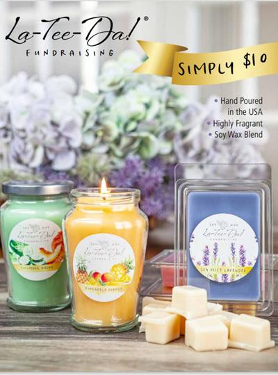 La-Tee-Da Simply $10 Spring Fundraiser Brochure