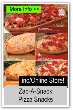 Zap-A-Snack Pizza Snacks Brochure