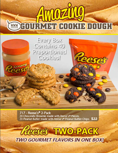 Amazing Gourmet Cookie Dough Brochure - Page 1