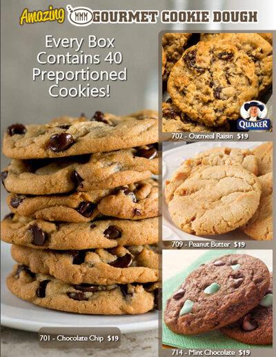 Amazing Gourmet Cookie Dough Brochure - Page 2