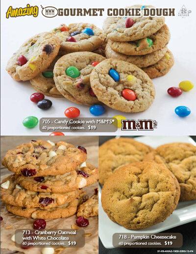 Amazing Gourmet Cookie Dough Brochure - Page 4