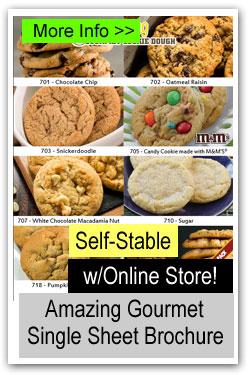 Amazing Gourmet Single Sheet Fundraiser