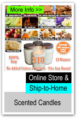 Ship to Home Candle Fundraiser