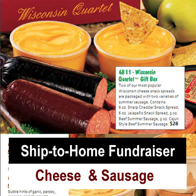 Ship to Home Cheese & Sausage Fundraiser