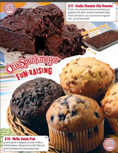 Otis Spunkmeyer Fundraising All Items One Price Brochure- Pg 3