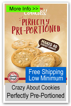 Crazy About Cookies - Perfectly Pre-Portioned Cookie Dough