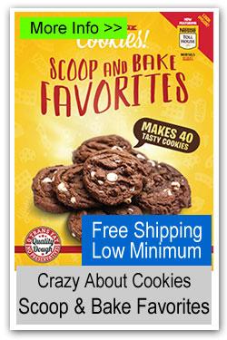 Crazy About Cookies - Scoop & Bake Favorites Cookie Dough
