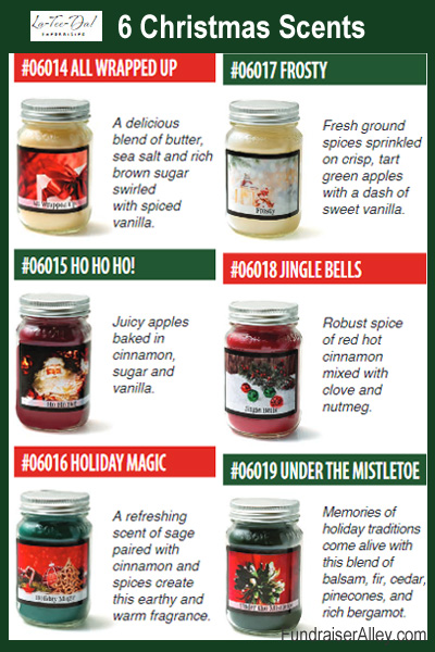 6 Christmas Scent Choices