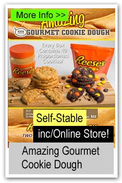 Amazing Gourmet Cookie Dough Brochure